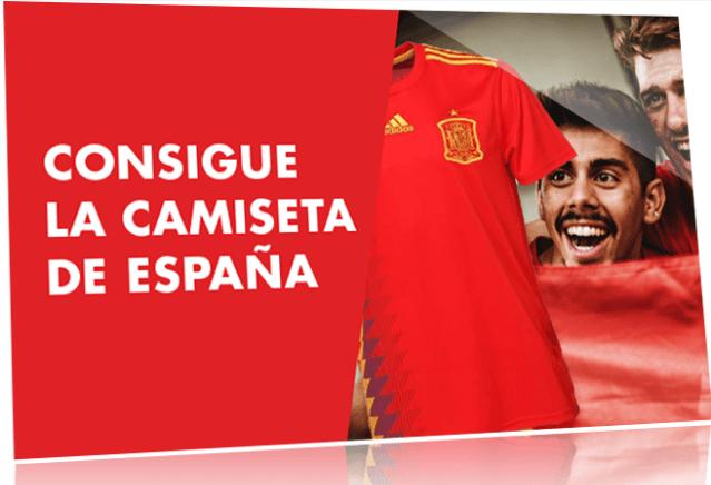 Ganar camiseta selección española