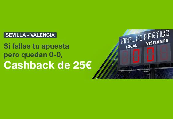 Oferta apuestas Sevilla Valencia
