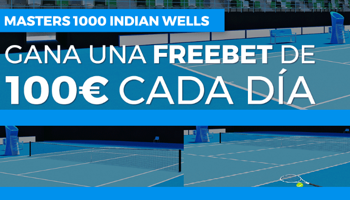 Apuestas gratis Indian Wells
