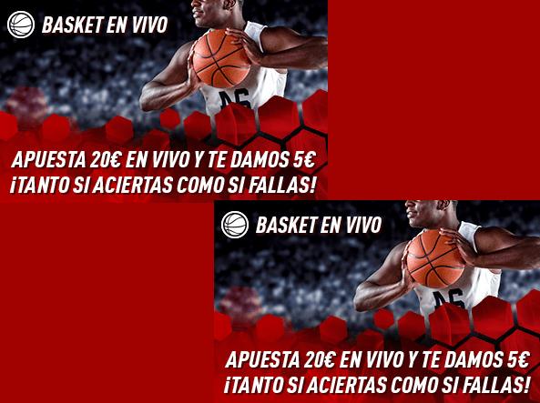 Apuestas gratis baloncesto