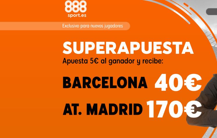 Apuestas especiales Barça Atleti