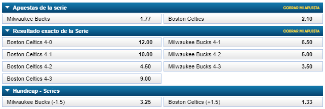 apuestas playoffs nba