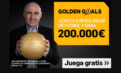 Oferta Betfair Golden Goals