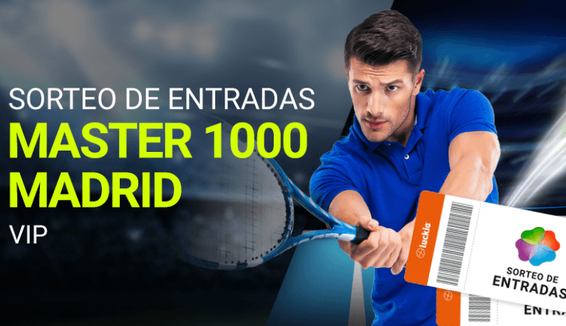 Sorteo entradas Madrid Open