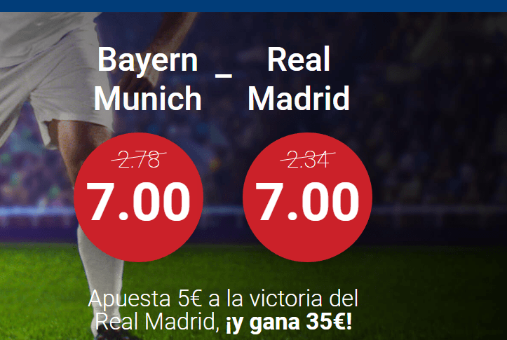 apuestas bayern munich real madrid