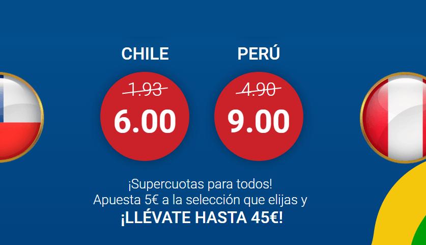 marathonbet apuestas chile perú