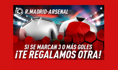 sportium oferta real madrid arsenal
