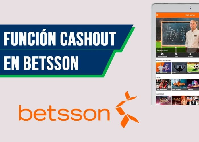 cash out betsson