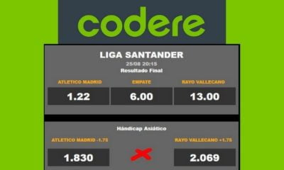 Codere Bono Handicap Asiatico