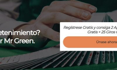 registrarse en mr green desde Perú