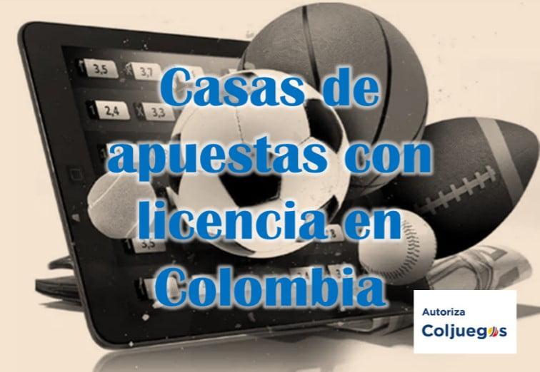 casas de apuestas con licencia en colombia